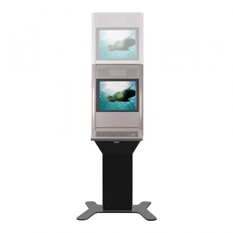 Eagle Shift Terminal mit 19 Zoll Bildschirmdiagonale Höhenverstellbar vorne
