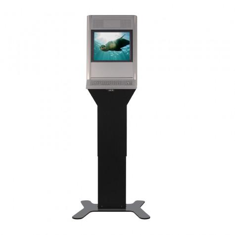 Eagle Shift Terminal mit 19 Zoll Bildschirmdiagonale vorne