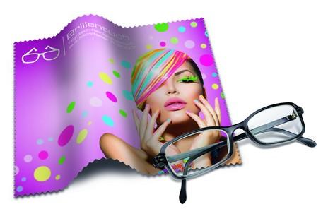 Brillenputztuch als Werbeartikel Beispiel 1