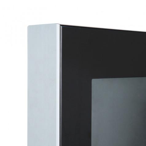 digitale Infostele SLIM - Detail Ecke