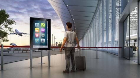 digitale anzeige outdoor