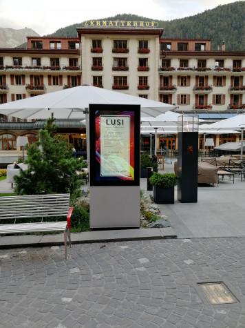 55 outdoor kiosk