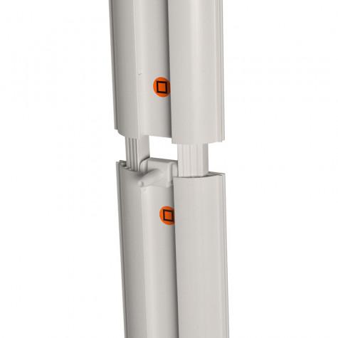 LED Lightbox Detail Steckverbindung Mitte