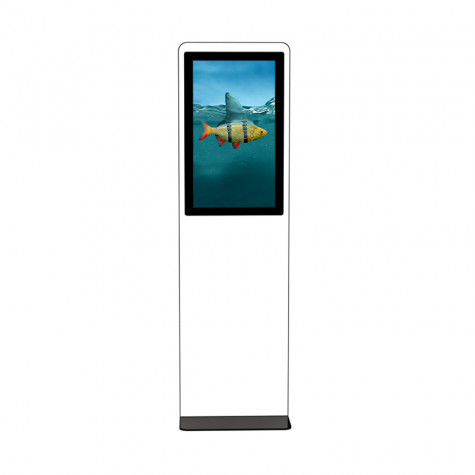 TRINITY Stele Indoor mit Touchscreen und 31,5 Zoll Bildschirm Gesamtansicht